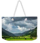 Hay Barns In Oberinntal, Pettneu Am Arlberg Weekender Tote Bag