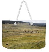 Hayden Valley Herd Weekender Tote Bag