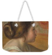 Head Of A Young Girl Weekender Tote Bag