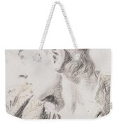 Head Of A Youth Turned To The Left Weekender Tote Bag
