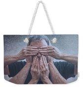 Hear, See, Speak Weekender Tote Bag