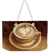 Heart Latte II Weekender Tote Bag