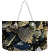 Heart Shaped Stone Loch Fyne  Weekender Tote Bag