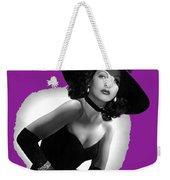 Hedy Lamarr C.1947-2013 Weekender Tote Bag