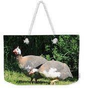 Helmeted Guineafowl Weekender Tote Bag