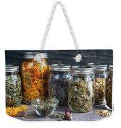 Herbs In Jars Weekender Tote Bag
