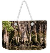 Heron And Cypress Knees Weekender Tote Bag