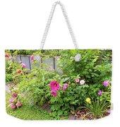 Hibiscus In The Garden Weekender Tote Bag