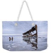 The Peter Iredale Wreck, Cannon Beach, Oregon Weekender Tote Bag
