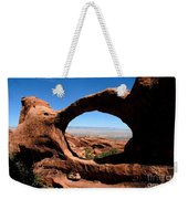 Hiking Through Arches Weekender Tote Bag