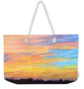 Hill Country Sunrise Weekender Tote Bag