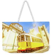 Historic Tram And Lisbon Cathedral Weekender Tote Bag