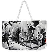 Hitler And Goebbels As The German Chancellor Signs An Autograph Weekender Tote Bag