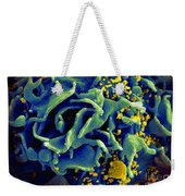 Hiv-infected T Cell, Sem Weekender Tote Bag
