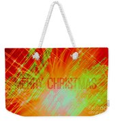 Holiday Burst Weekender Tote Bag