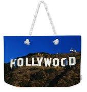 Hollywood Sign Los Angeles Ca Weekender Tote Bag