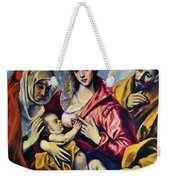 Holy Family With St Anne Weekender Tote Bag