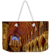 Holy Name Organ Loft Weekender Tote Bag