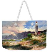 Home For The Night 3 Weekender Tote Bag