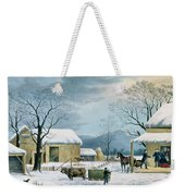 Home To Thanksgiving Weekender Tote Bag