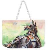 Horse Art In Watercolor Weekender Tote Bag