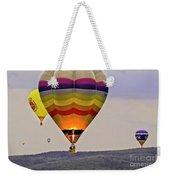 Hot-air Balloning Weekender Tote Bag by Heiko Koehrer-Wagner