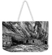 House On Fire Ruin Utah Monochrome 2 Weekender Tote Bag