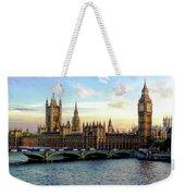Houses Of Parliament Weekender Tote Bag