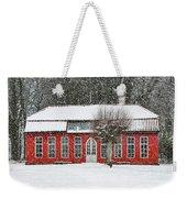 Hovdala Castle Orangery In Winter Weekender Tote Bag