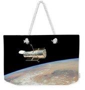 Hubble At Work Weekender Tote Bag