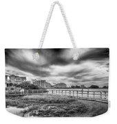 Hudson Beach Weekender Tote Bag by Howard Salmon