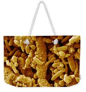 Human Feces Containing Bacteria Weekender Tote Bag