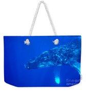 Humpback Whale Weekender Tote Bag