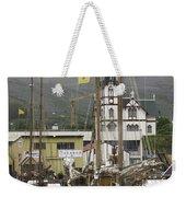 Husavik Harbor Iceland 3660 Weekender Tote Bag