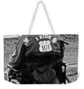 I Ride Weekender Tote Bag