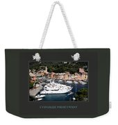 I Visualize What I Want Weekender Tote Bag