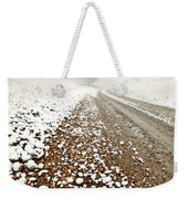 Ice Fog In Cypress Hills Provincial Park Of Saskatchewan Weekender Tote Bag