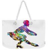 Ice Skater-colorful Weekender Tote Bag