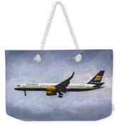 Icelandair Boeing 757 Art Weekender Tote Bag