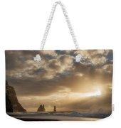 Icelandic Seascape Weekender Tote Bag
