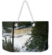 Icy River Weekender Tote Bag