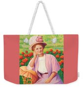Ida In The Garden Weekender Tote Bag