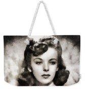 Ida Lupino, Vintage Actress Weekender Tote Bag