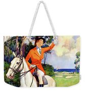 Illinois Mississippi Restored Vintage Poster Weekender Tote Bag