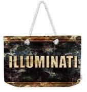 Illuminati Pop Art By Mary Bassett Weekender Tote Bag