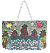 Ilwolobongdo Abstract Landscape Painting Weekender Tote Bag