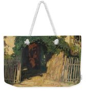 In Front Of A Cottage Weekender Tote Bag