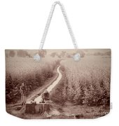 India Laundry In Canal Weekender Tote Bag