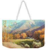 Indian Summer Weekender Tote Bag