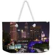 Indianapolis Canal View Weekender Tote Bag